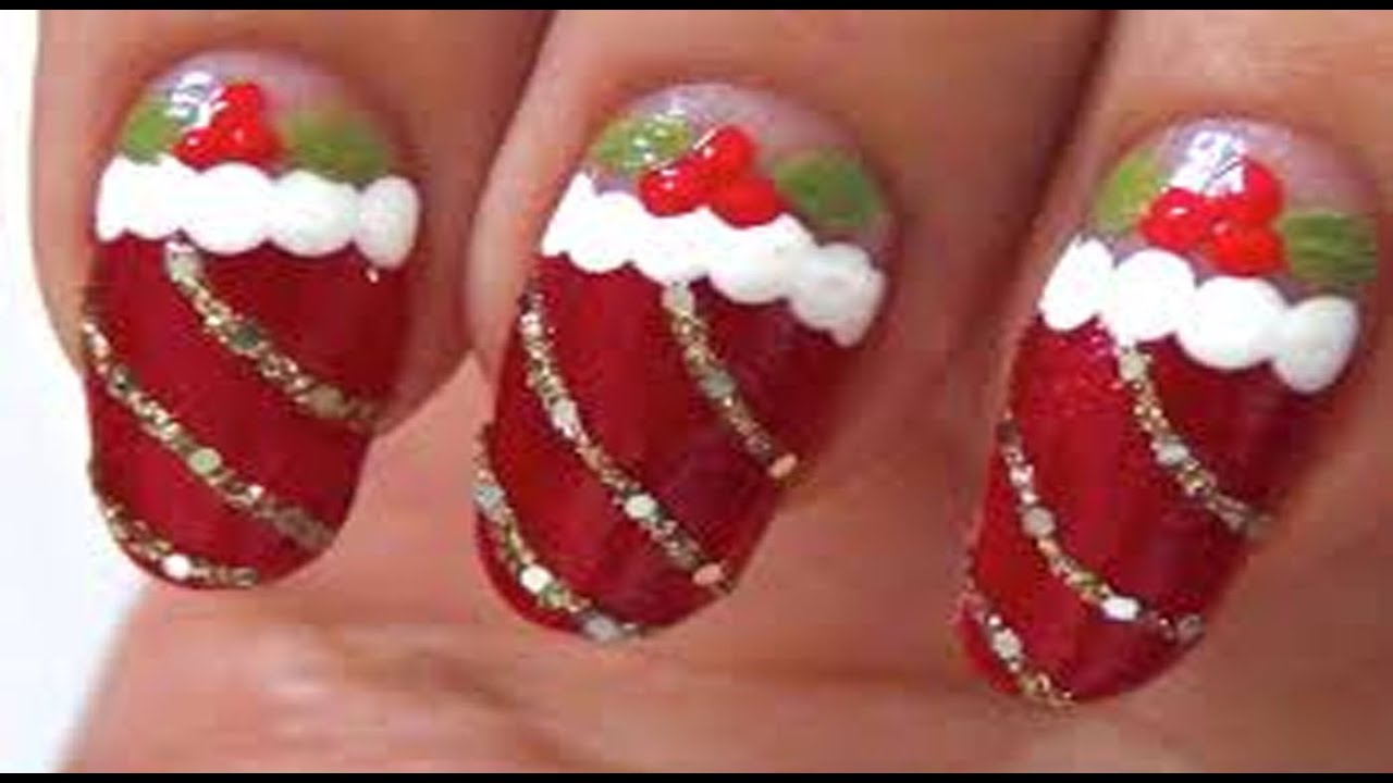 Latest Christmas Nail Art Ideas Nail Art Designs For Christmas And