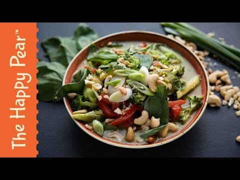 Thai Green Curry Recipe – how to make – quick and easy – The Happy Pear