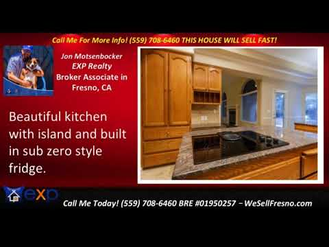 Immaculate 4 bedroom 3.5 bath homes for sale Fresno CA