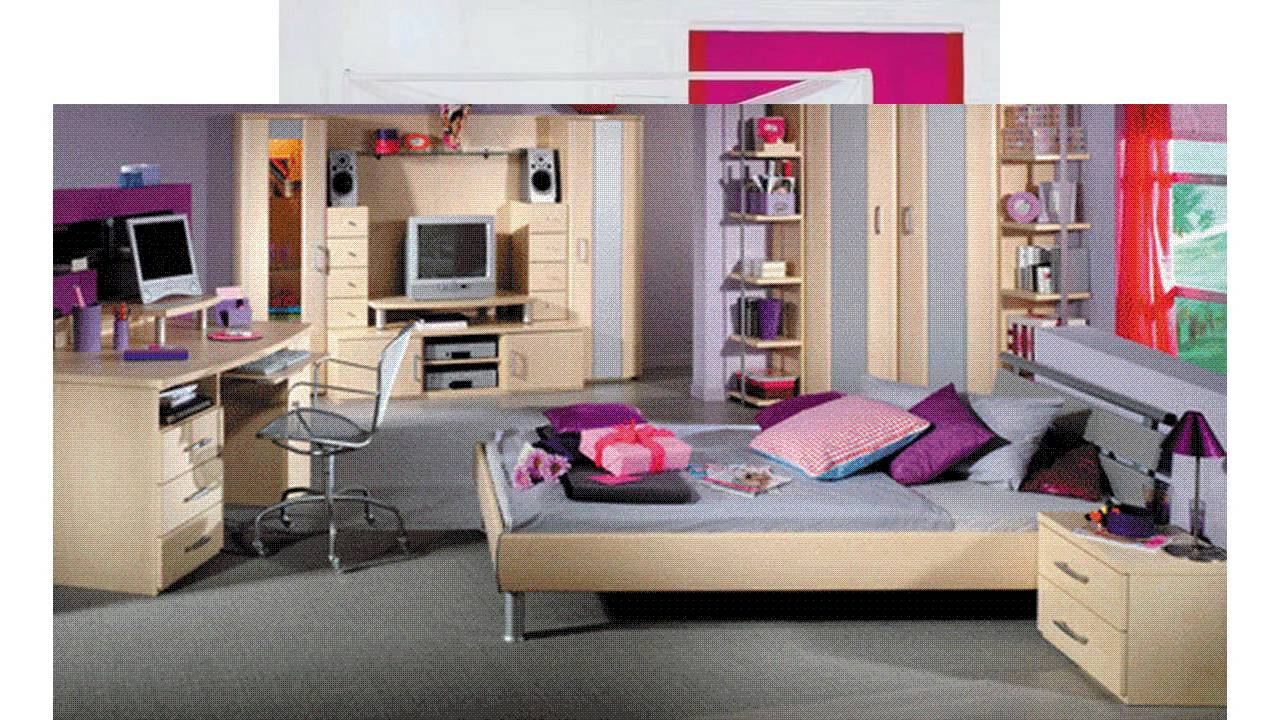 schlafzimmer ideen f r m dchen youtube. Black Bedroom Furniture Sets. Home Design Ideas