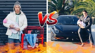 RICH DAD VS POOR DAD EXPERIMENT!! (EMOTIONAL)