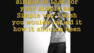 Kid Cudi - Simple As ( with lyrics )