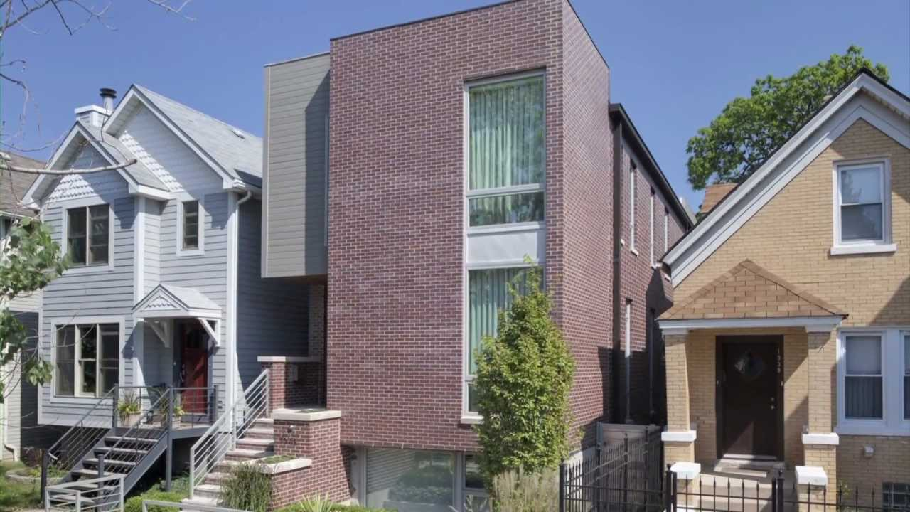 New inner city chicago house build to maximize space on a - When building a house ...