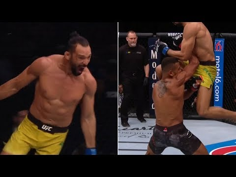 Michel Pereira goes full Mortal Kombat for KO of the night bonus at UFC Rochester