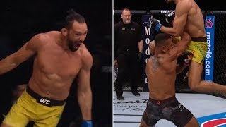Insane KO! Michel Pereira's UFC debut is something out of a video game! Our new favourite fighter