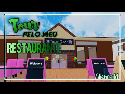 Roblox - MEU RESTAURANTE KAWAII(Restaurant Tycoon)