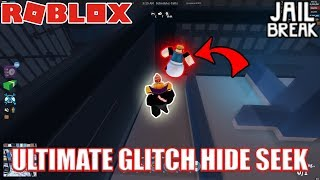 ULTIMATE GLITCH HIDE AND SEEK *GONE WRONG* (BADCC BANS US???) | Roblox Jailbreak