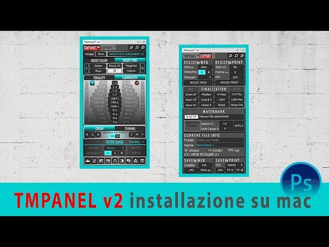 TMPanel installazione su mac