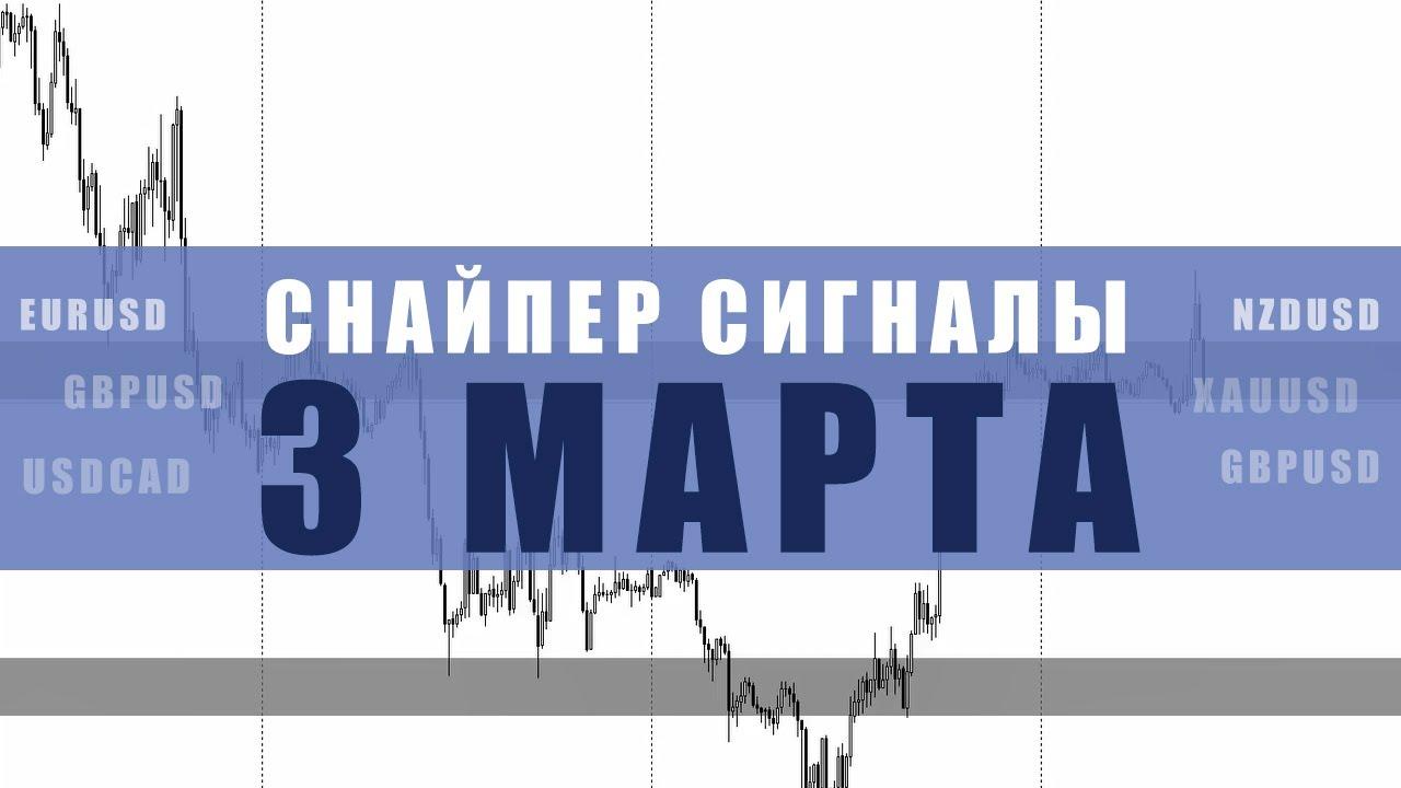 СИГНАЛЫ СНАЙПЕР НА 3 МАРТА  | Трейдер Ян Сикорский