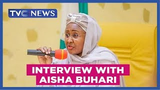 Interview with Aisha Buhari, wife of Nigerian President Muhammadu Buhari