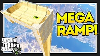 GTA 5 - The *HUGE* Vertical Ramp!!