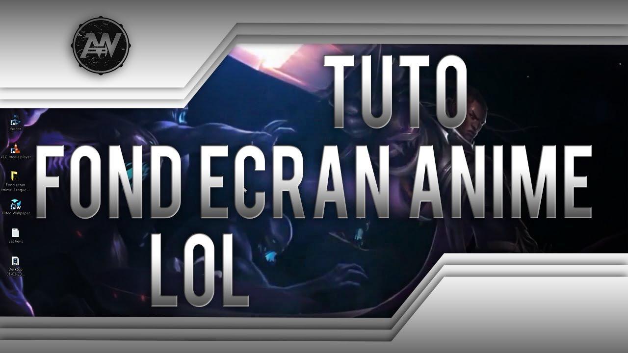 TUTO Fond écran animé League of Legends - Lucian - FR - YouTube