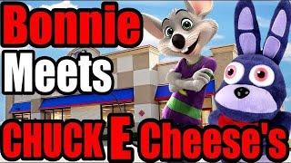 FNAF Plush - Bonnie Meets Chuck E Cheese