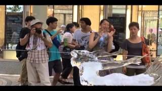 2015年8月7日八王子まつり一週間連続の記録的猛暑日のなか、夏季全国展...