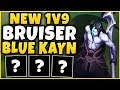 #1 KAYN WORLD *NEW* BRUISER BLUE KAYN BUILD! HOW OP IS THIS?!? - League Of Legends