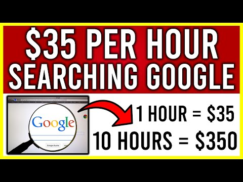 Get Paid FREE PayPal Money To Search GOOGLE! Earn $35 PER HOUR! (Make Money Online)
