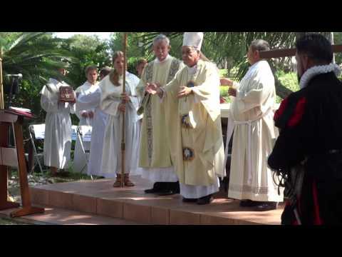 Bishop Felipe Estevez - St  Augustine Founder's Day 1565