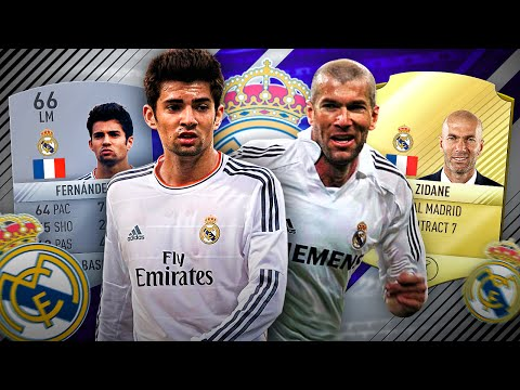 THE UPGRADED YOUNG ZIDANE IN FIFA 17 REAL MADRID SQUAD RATING! FIFA 17 DEMO GAMEPLAY