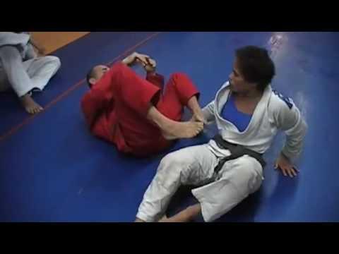 31   calf crush defense into a triangle