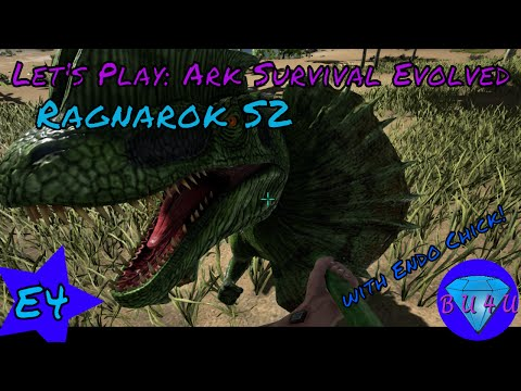 A natural ending - Ark Survival Evolved with Endo Chick | Ragnarok | Modded | Let's Play | S2E4