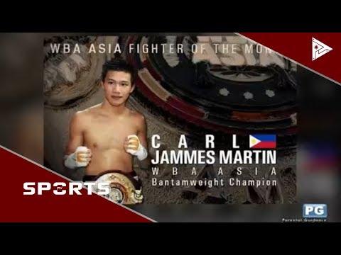 SPORTS BALITA: WBA Asia's best si Martin