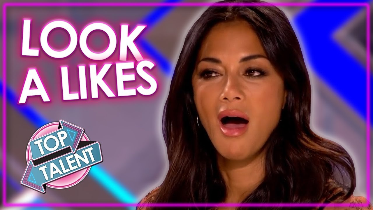 BEST and WORST LOOK A-LIKES on Got Talent and X Factor! | Top Talent