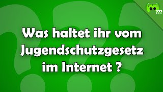 Was haltet ihr vom Jugendschutzgesetz im Internet ? - Frag PietSmiet ?!
