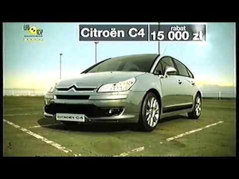 Reklama Citroen C3,C4,Xsara Picasso 2005 Polska