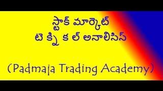 స్టాక్ మార్కెట్ టె క్ని క ల్  అనాలిసిస్ బేసిక్స్. Stock Market Technical Analysis Basics