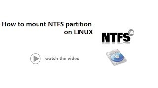 how to mount ntfs partation in  linux | Linux Tutorial