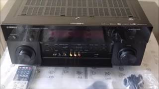 Yamaha RX-A2080 Unboxing & Dolby Atmos Setup
