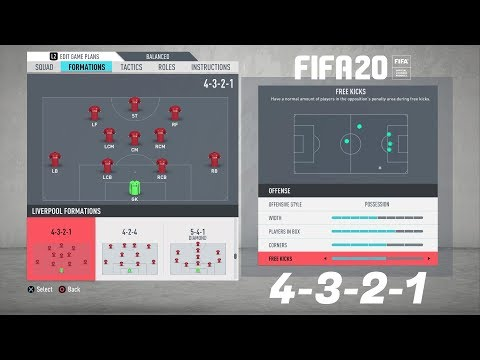 FIFA 20 BEST FORMATION (4-3-2-1) TUTORIAL - Best Custom Tactics & Instructions & More!!