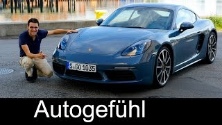 The best Porsche? 718 Cayman FULL REVIEW Racetrack test driven new neu 2017