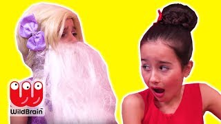 VALENTINE'S DAY PRANK ❤️ Don't Eat Magic Chocolates - Princesses In Real Life | WildBrain Kiddyzuzaa
