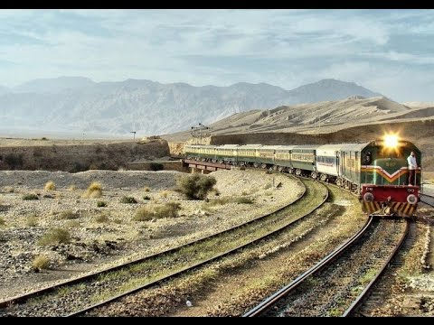 quetta travel in train tunnal view