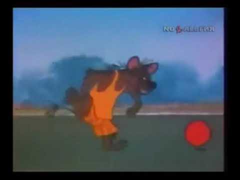 Мультфильм как животные в футбол играют