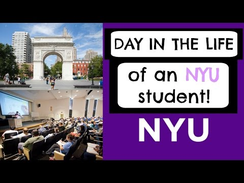 Day In the Life of an NYU STUDENT! | College Life
