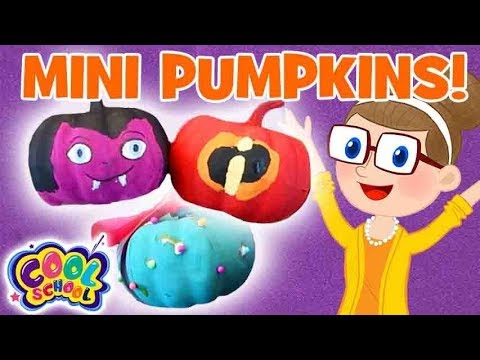 MINI Pumpkins Craft👻🎃Halloween Crafts🎃Crafty Carol | Crafts for Kids | Cartoons for Kids