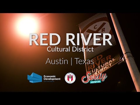 Visit The Red River Cultural District in Austin, Texas