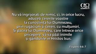 Ascultă Biblia: Ioan 14:27,Filipeni 4: 6-7 sigla
