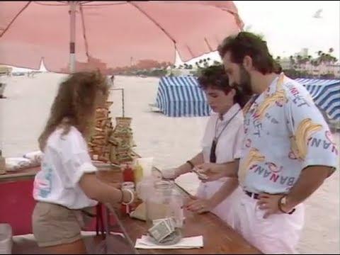 [Rare] Miami Beach walk 1986 Gloria Estefan Emilio Estefan