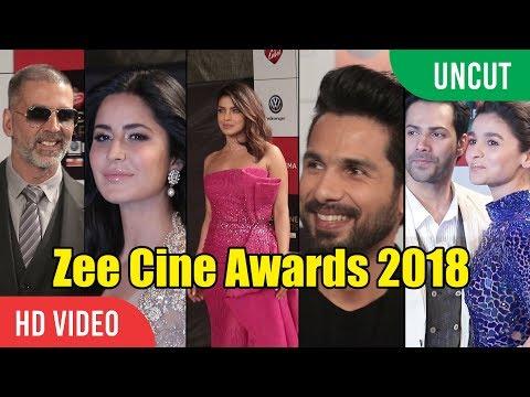 UNCUT - Zee Cine Awards 2018 | Ranveer Singh, Katrina Kaif, Shahid Kapoor, Priyanka Chopra