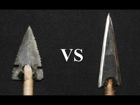 Penetration Test: Stone vs Steel Arrowheads on a Deer