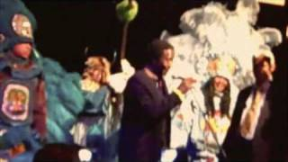 Treme Benefit for New Orleans Musicians Mar 2010 Clarke Peters and Mardi Gras Indians