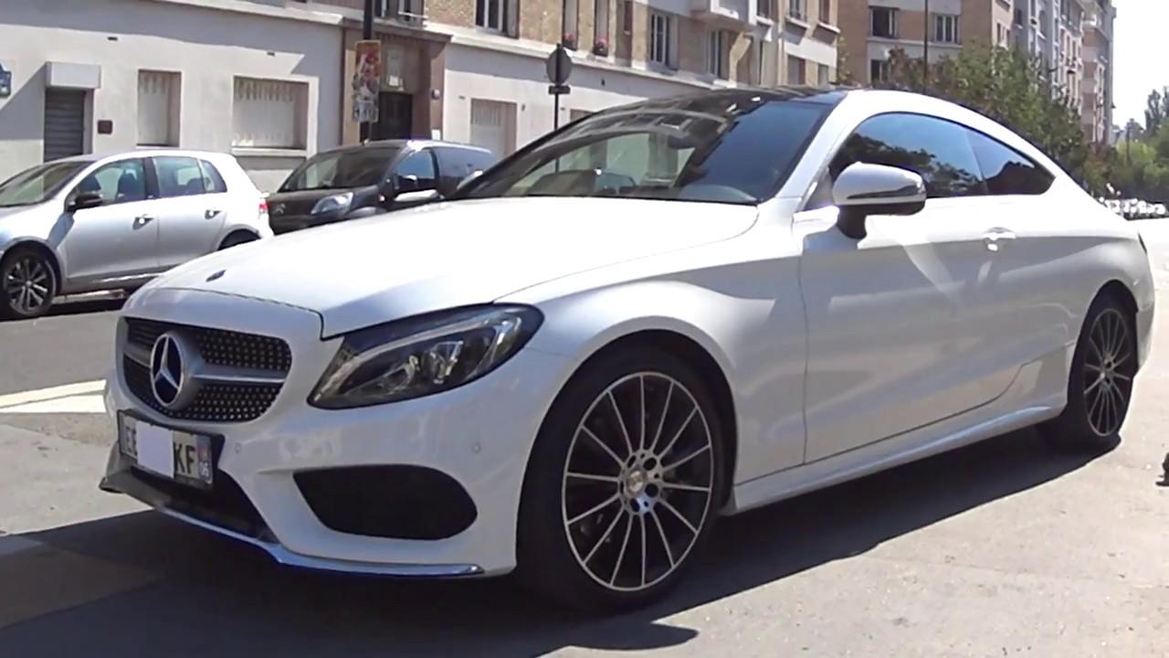 Ma Nouvelle Mercedes Classe C Coupe Amg