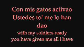 Don omar ft. tego calderon Los Bandoleros with lyrics