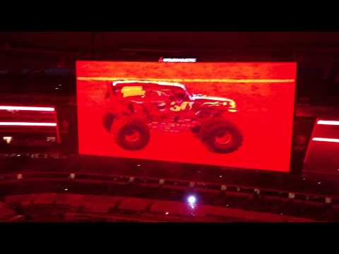 Grave Digger Intro - Monster Jam - Cowboys Stadium 2/25/2012
