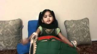 Gokul Bhajan - 3 Years old Radha Priya Dasi Singing Bhajans