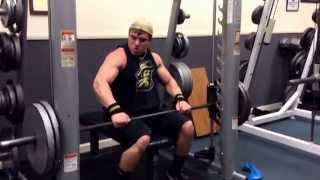 weight room facility and lifting exercises