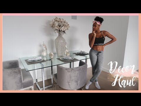 DECORATE WITH ME! DINING ROOM CENTER PIECE, Z GALLIERIE HAUL, BACK TO IKEA!